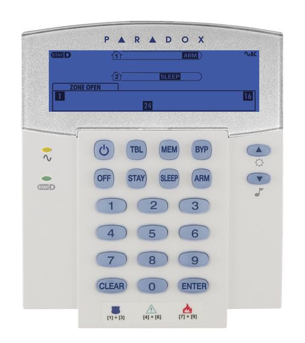 Paradox K35 Kezelő